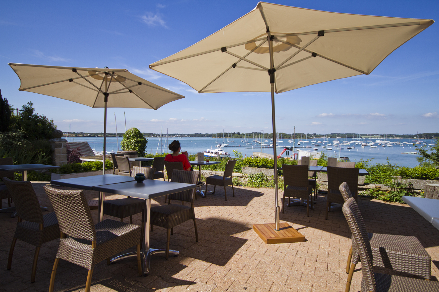 Terrasse restaurant Ile-aux-Moines